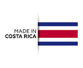 Costa Rica, Costa Rican Flag, Vector, National Flag, Icon