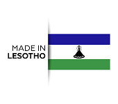 Lesotho, Country - Geographic Area, Russia, Former Lesotho Flag, Flag Save