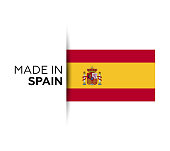 Spain, Spanish Flag, National Flag, Vector, Icon