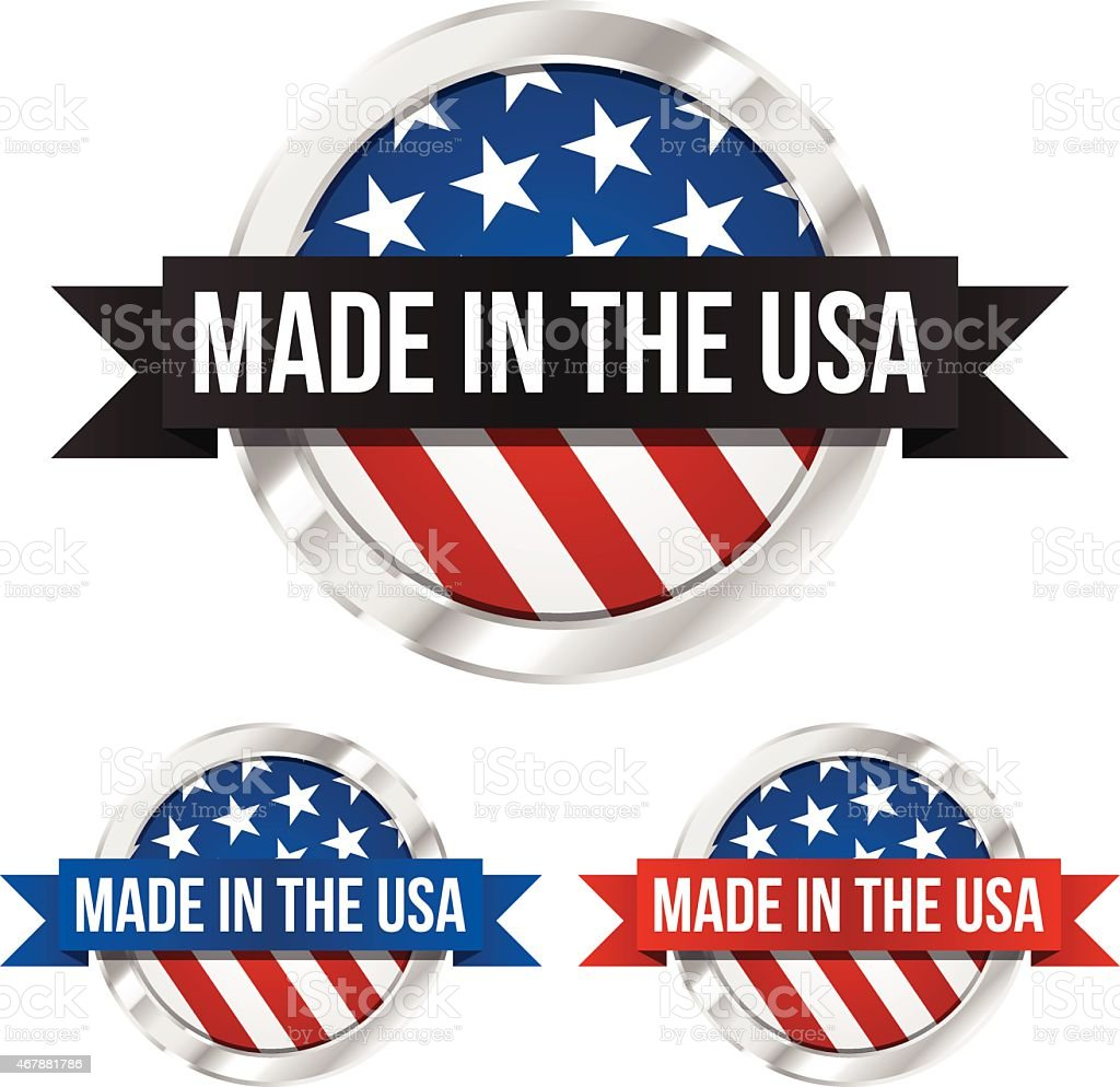 Made in the usa symbol and banner stock vector art more images made in the usa symbol and banner royalty free made in the usa symbol and buycottarizona