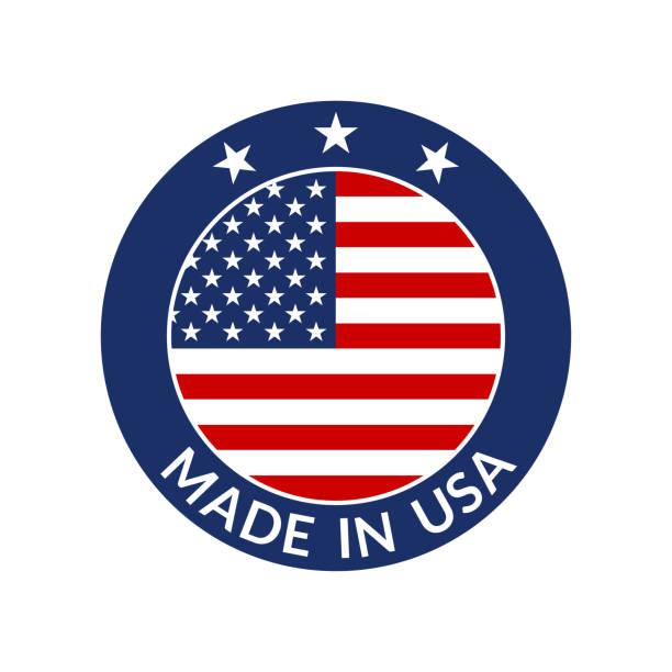 232 Made In Usa Logo Illustrations & Clip Art - iStock