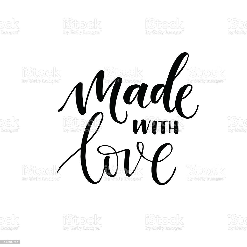 Download Made With Love Card Stock Illustration - Download Image ...
