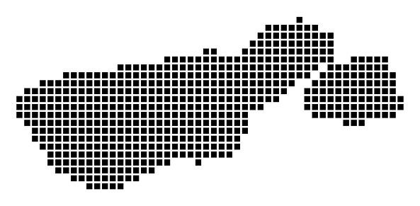 Madre de Dios Island map.