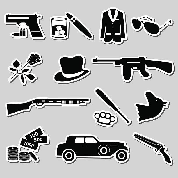Royalty Free Mafia Clip Art Vector Images Illustrations Istock