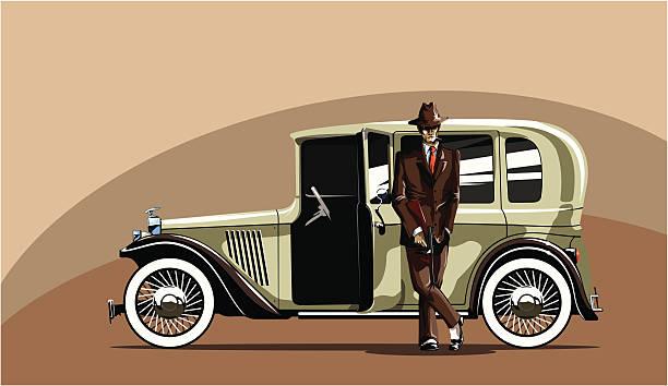 mafia - gangster stock illustrations, clip art, cartoons, & icons