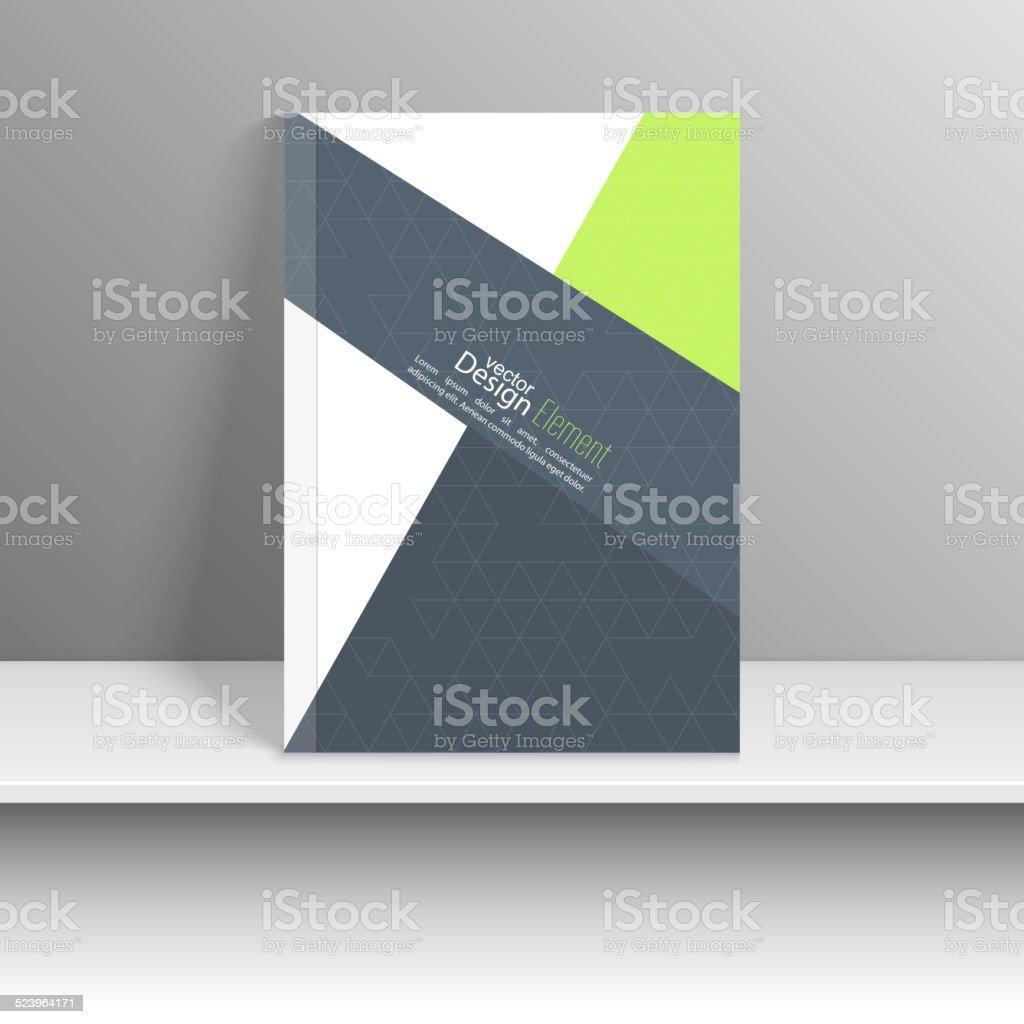 Magazine Cover. vector art illustration