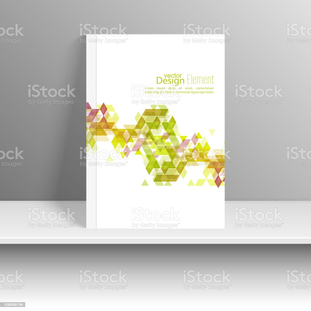 Magazine Cover vector art illustration