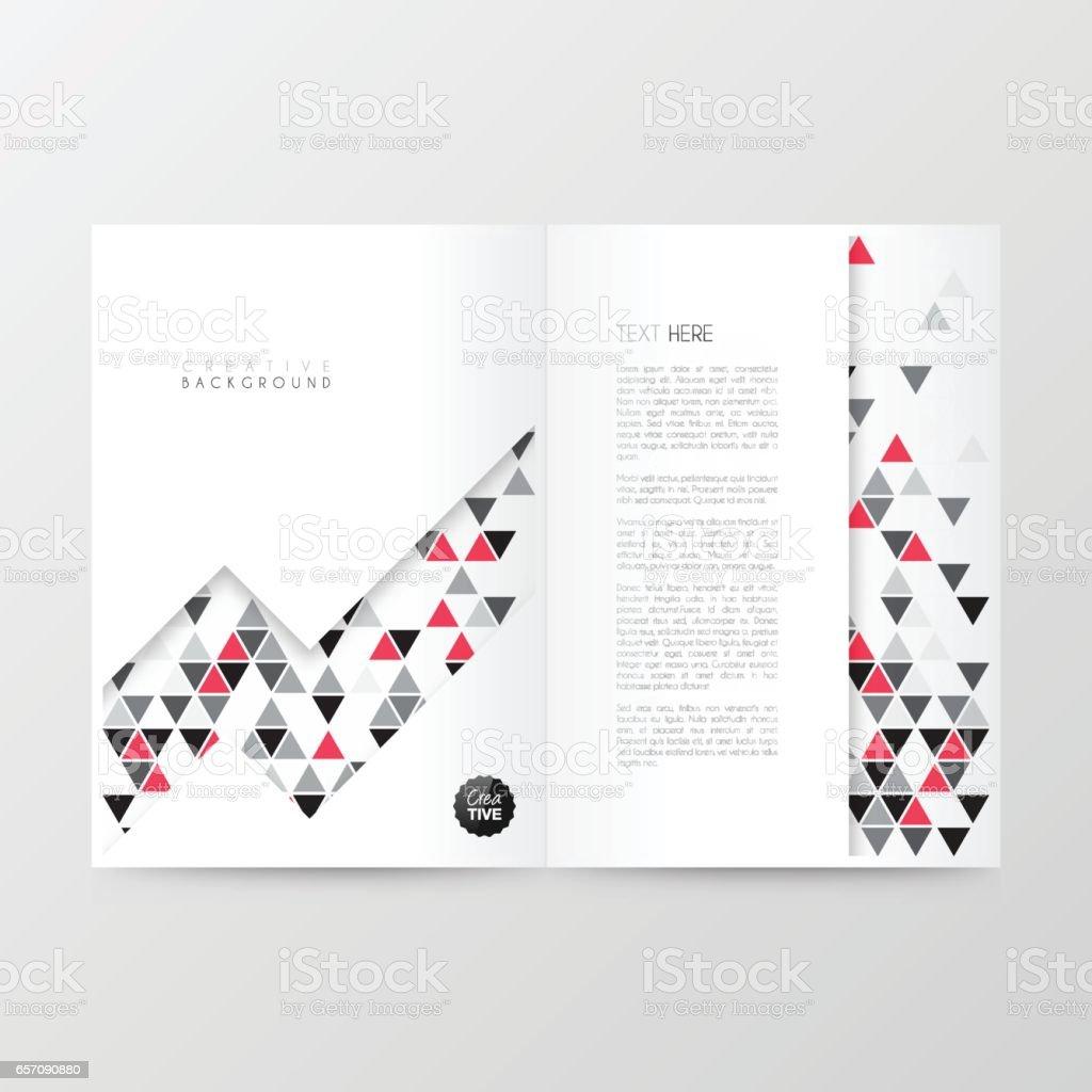 Disposition De Modele Magazine Brochure Design De La Couverture