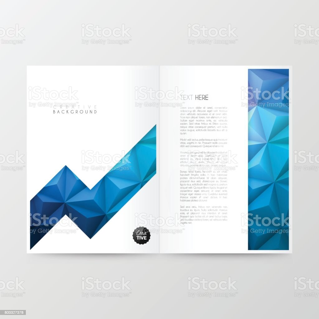 Disposition De Modèle Magazine Brochure Design De La