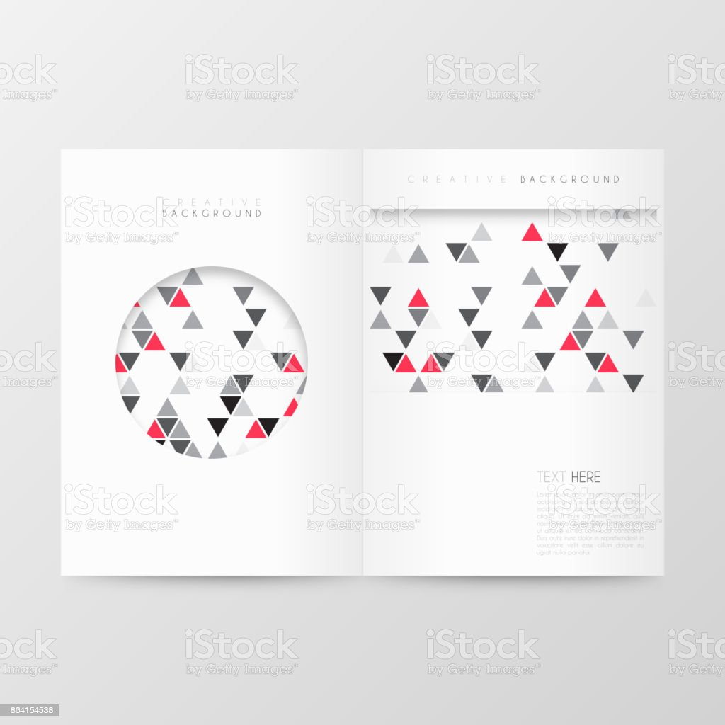 Magazine template layout, brochure, cover design, business annual report, flyer royalty-free magazine template layout brochure cover design business annual report flyer stock vector art & more images of abstract