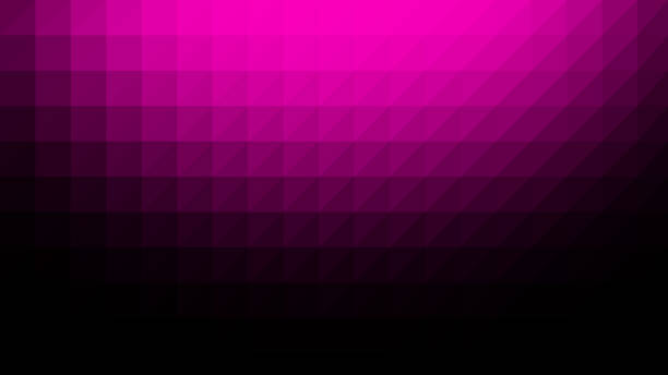 Magenta Black Low Poly Vector Background vector art illustration