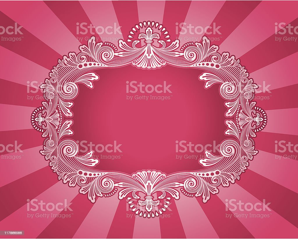 Magenta Majesty royalty-free stock vector art