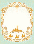 The Three Wise Men enter the town of Bethlehem. Room for your text.  http://i483.photobucket.com/albums/rr191/pjdesigns/Christmas.jpg