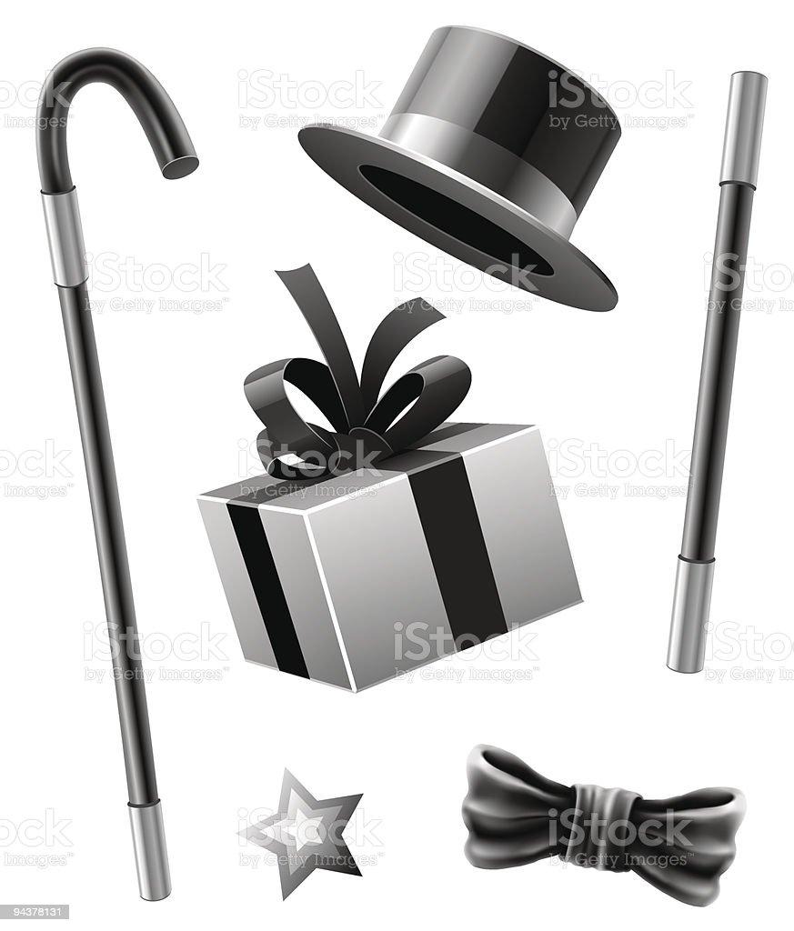 magic accessories set of conjurer gentleman royalty-free magic accessories set of conjurer gentleman stock vector art & more images of adult