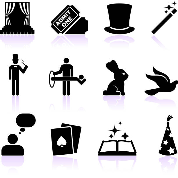 Magician Illustrations, Royalty-Free Vector Graphics ...