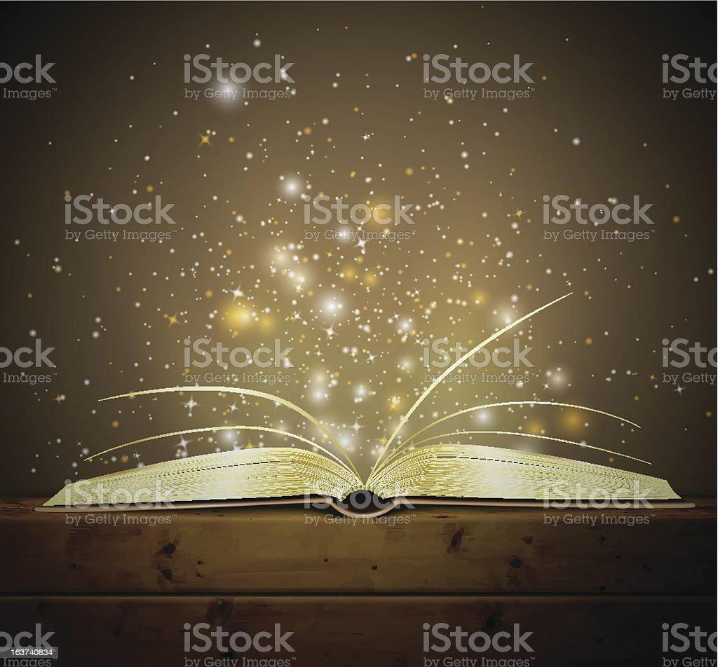 Magic Buch – Vektorgrafik