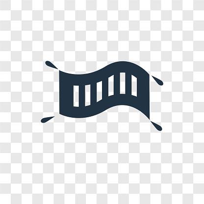Magic Carpet vector icon isolated on transparent background, Magic Carpet transparency logo design