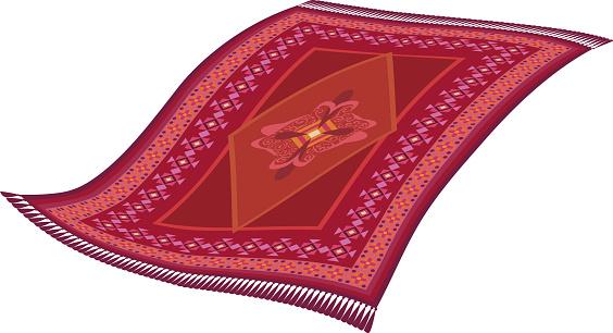Magic flying rug