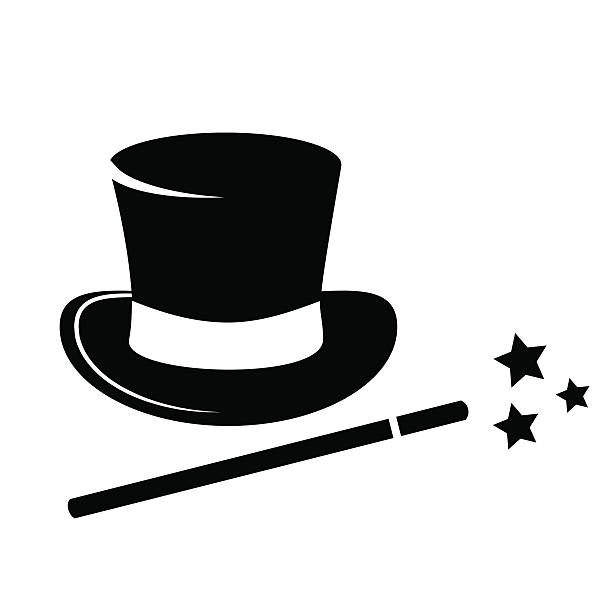 Royalty Free Magic Hat Clip Art, Vector Images ...