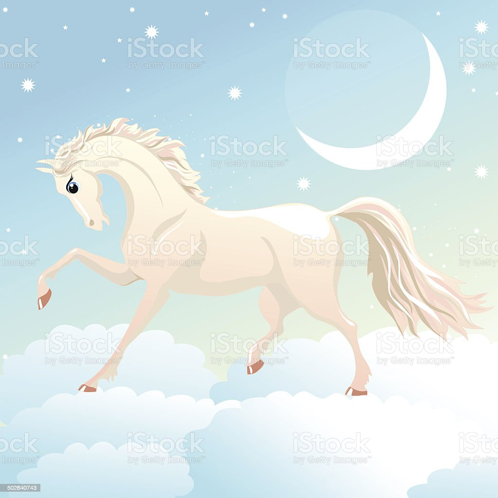 Magic Horse Stock Illustration Download Image Now Istock