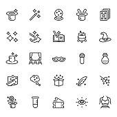 Magic icon set