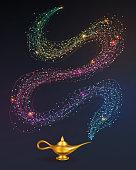 istock Magic lamp 1183840417