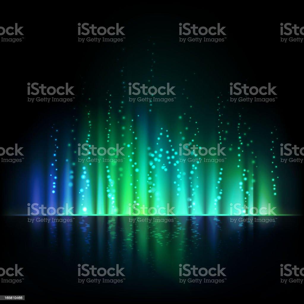 Magic light background royalty-free stock vector art