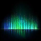 Vector light background.