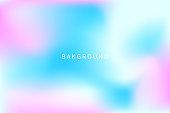 Magic pastel unicorn background, fairytale backrop, princess banner. ESP10 vector illustration