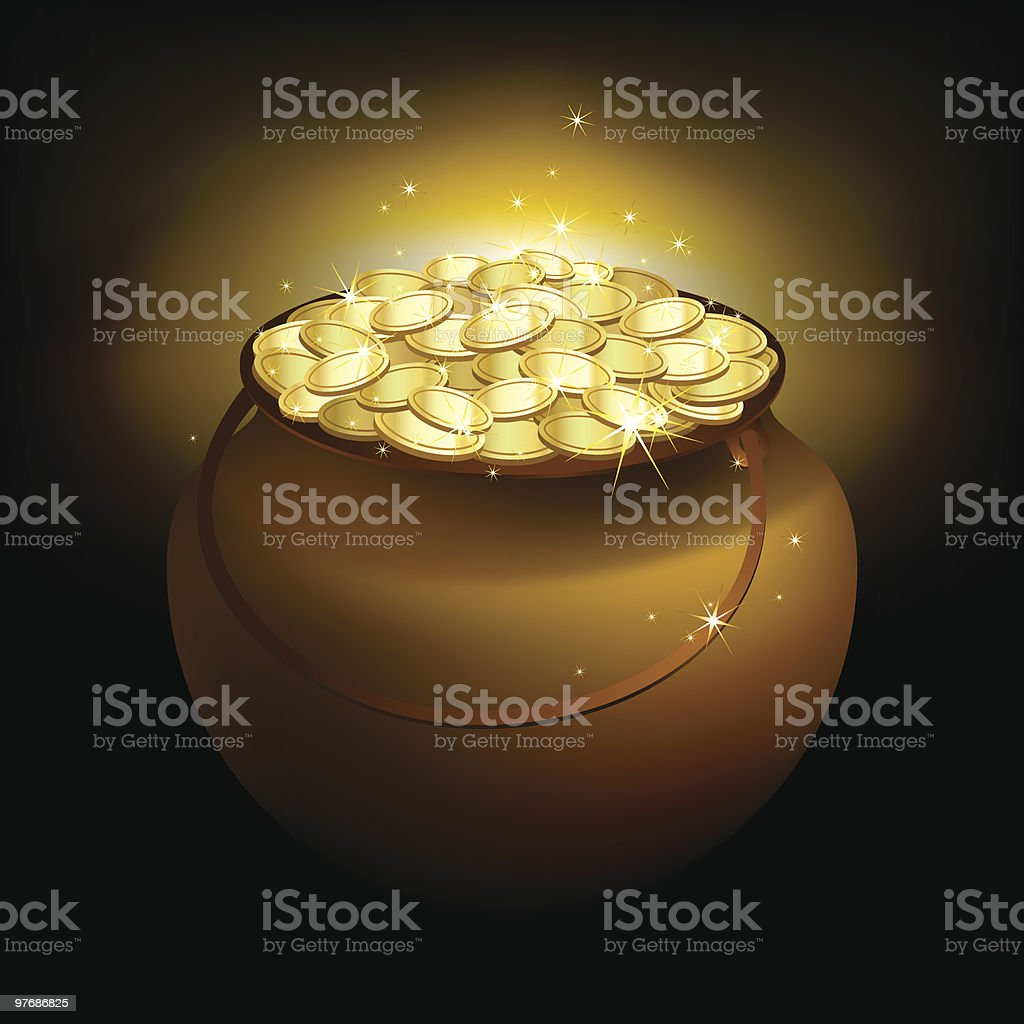 Magic pot royalty-free magic pot stock vector art & more images of backgrounds