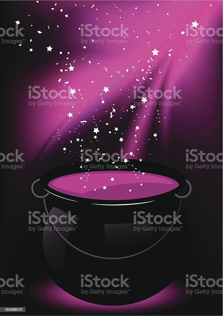Magic potion royalty-free stock vector art