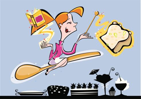 Magic recipes cook