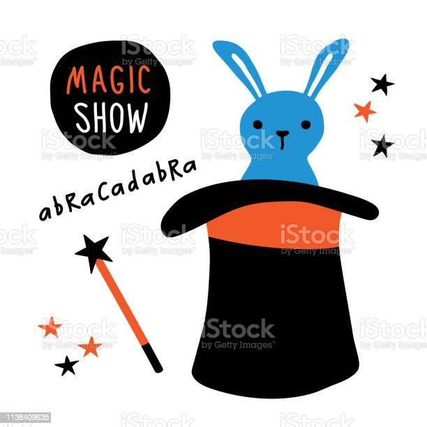 Magic show banner rabbit magician equipment top hat magic wand vector id1138409635?b=1&k=6&m=1138409635&s=612x612&h=tjkf6q6ge 0pbamur8hlfd59tm qsqxmqyoyexofrws=