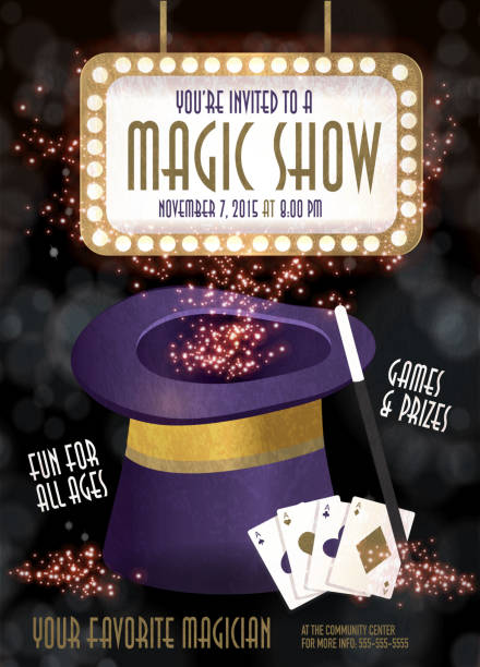 Best Magic Show Illustrations, Royalty-Free Vector Graphics