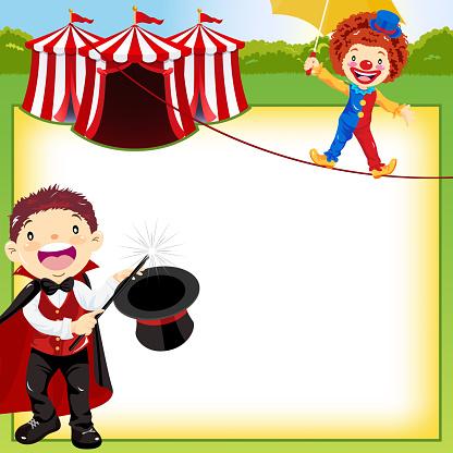 Magic Show in Circus Information Notice
