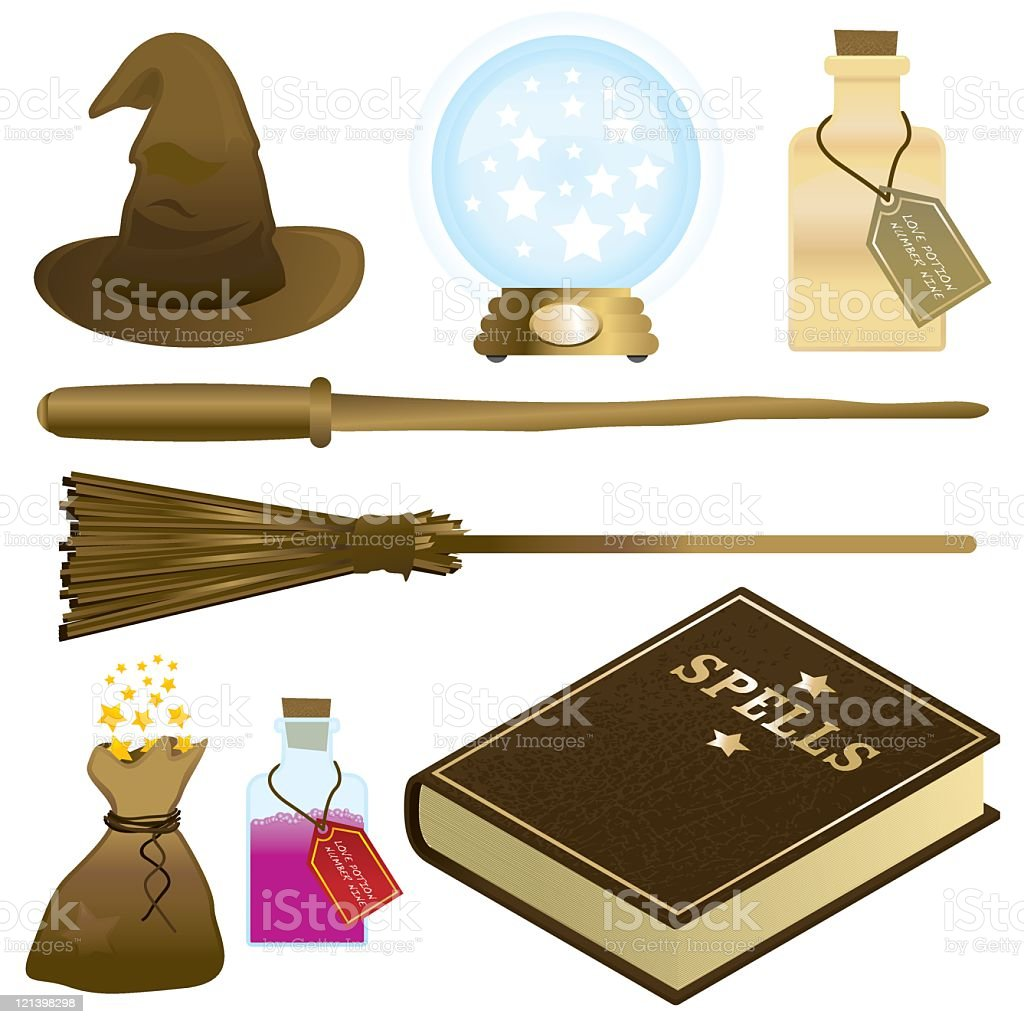 Magic Stuff royalty-free stock vector art