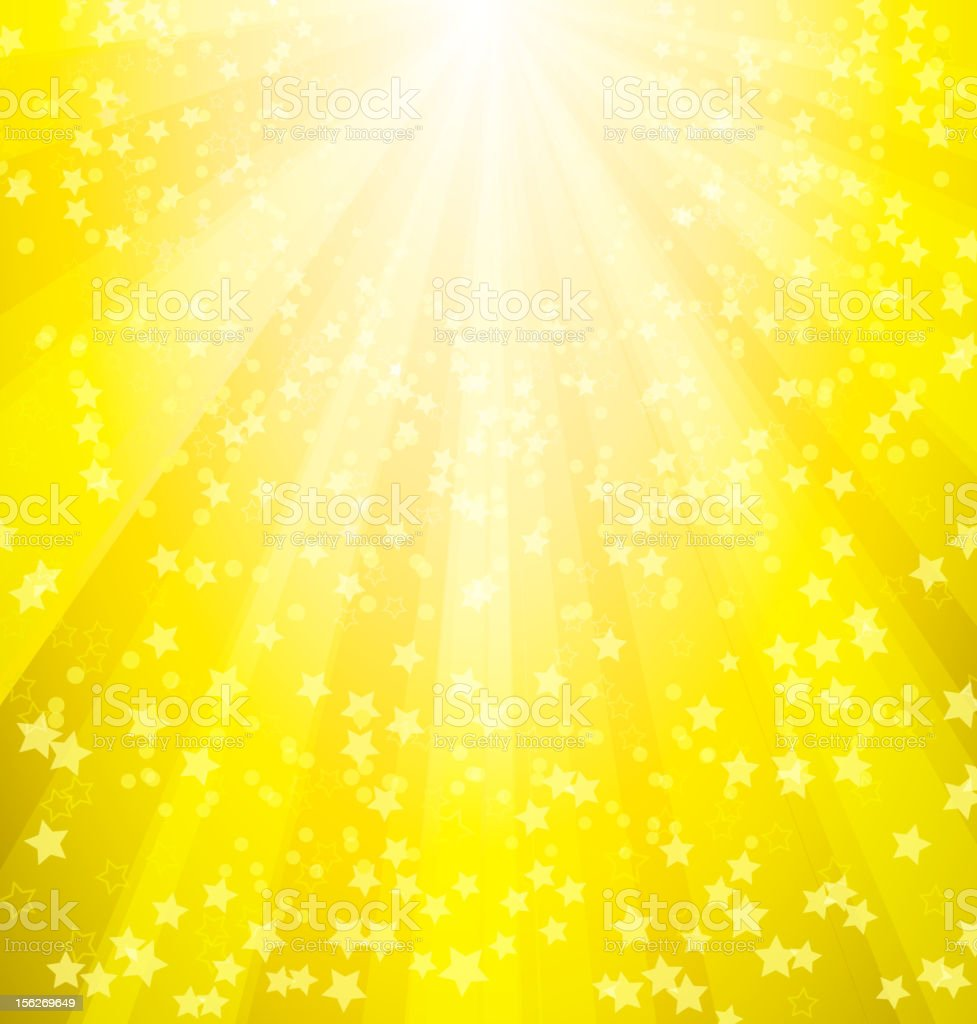 Magic sunburst background royalty-free stock vector art