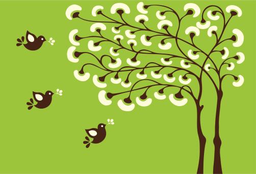 Magic Tree & Little Birds