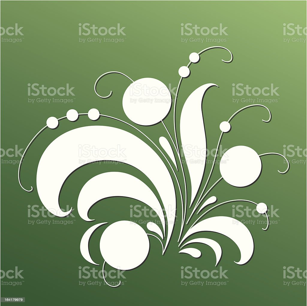 Magic Tree - Vector floral elements. royalty-free stock vector art