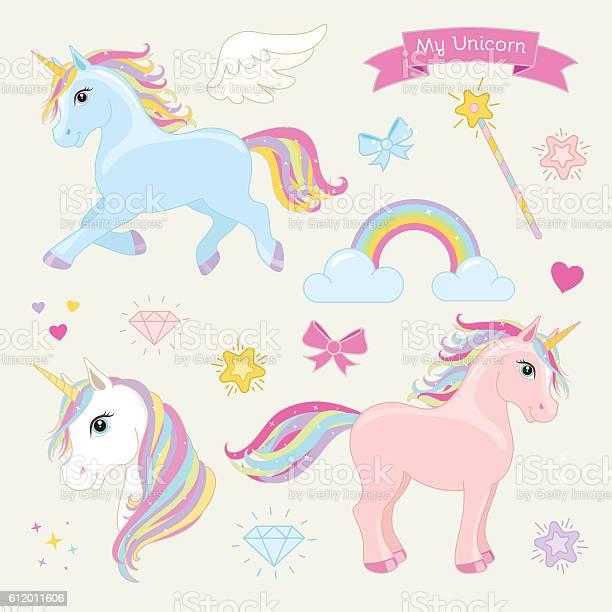 Magic unicorn vector set unicorns in action vector id612011606?b=1&k=6&m=612011606&s=612x612&h=5mck18txshid2hoiz da 39tg6g5j1cfypiigftfvba=