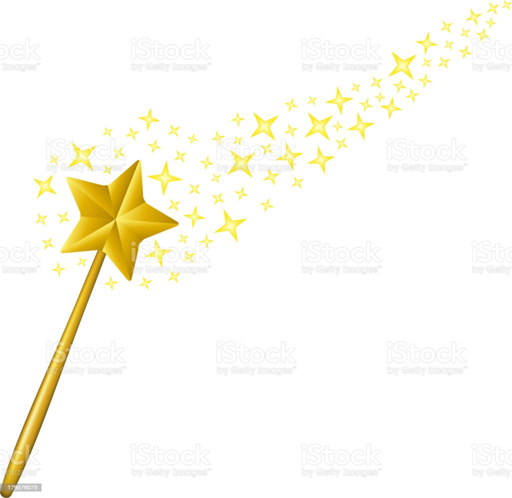 magic wand stock vector art more images of blessing 179576075 istock rh istockphoto com