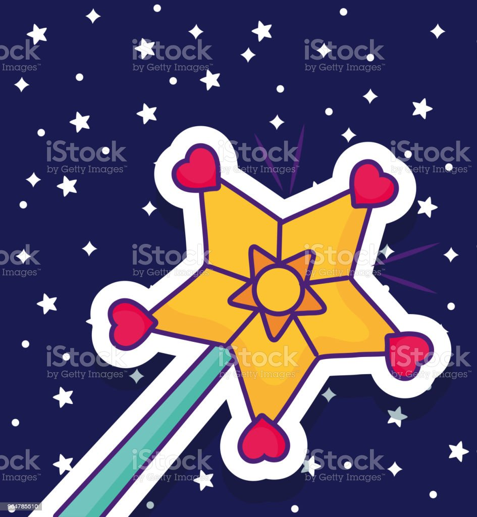 magic wand icon royalty-free magic wand icon stock vector art & more images of abstract