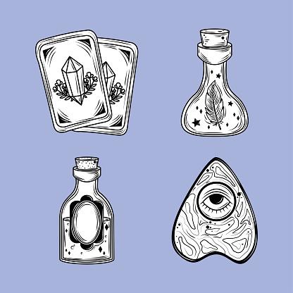 magical icon set