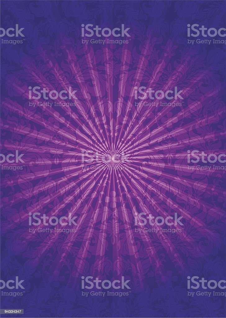 Magical night royalty-free stock vector art