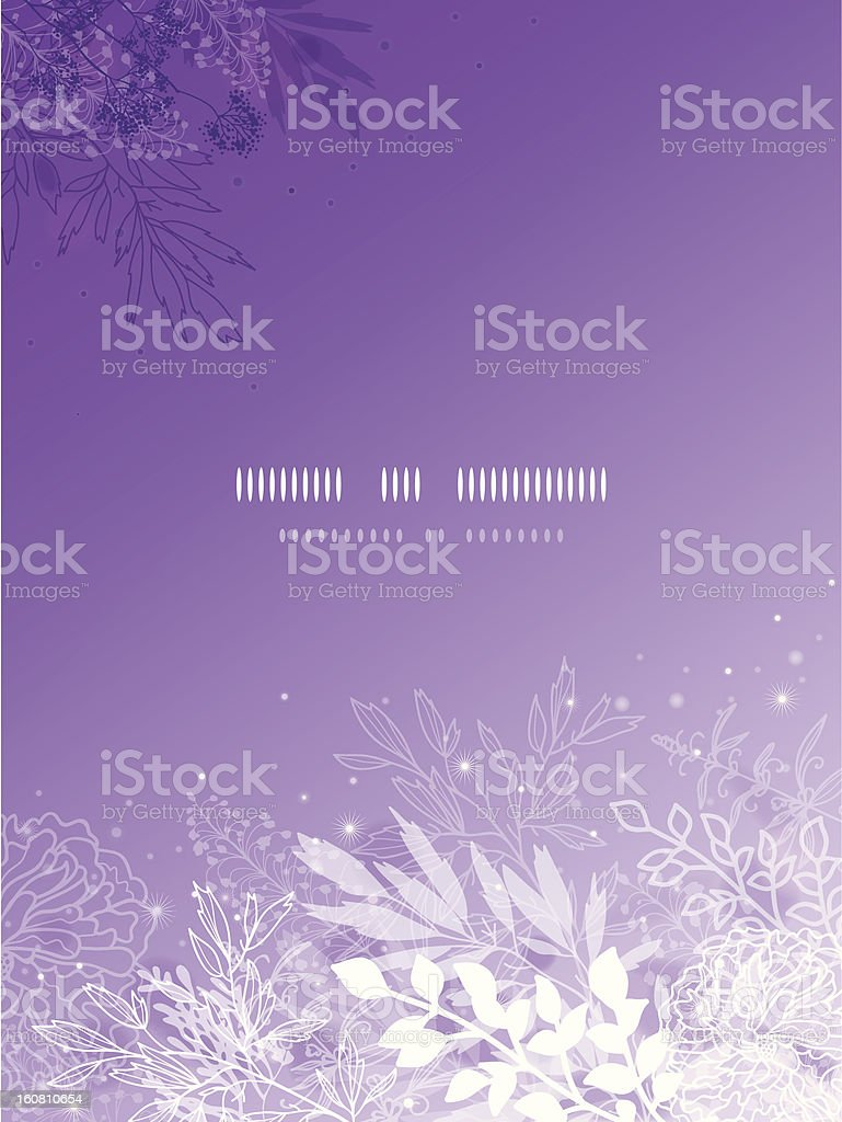 Magical silhouette plants vertical template background royalty-free magical silhouette plants vertical template background stock vector art & more images of abstract