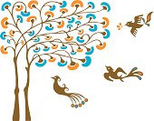 Magical Tree & Birdies