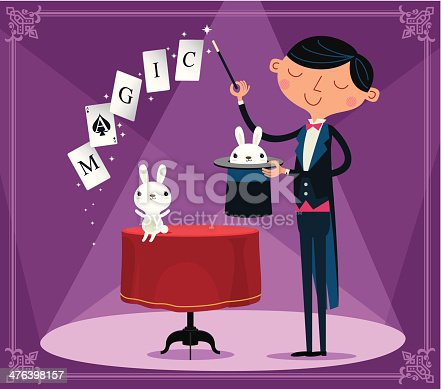 Magic ...It's as easy as pulling a rabbit out of a hat!