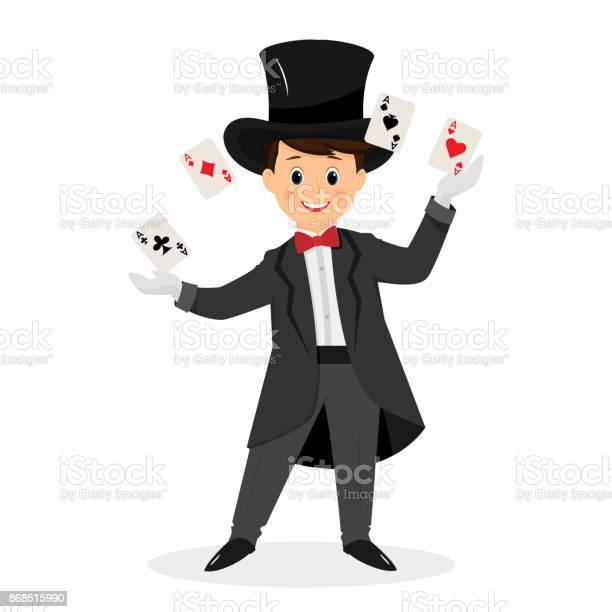 Magician with hat and playing cards vector id868515990?b=1&k=6&m=868515990&s=612x612&h=6ndcphajyhgi8u0rk8udblmq5ezpbsdug8 yuabmtsm=