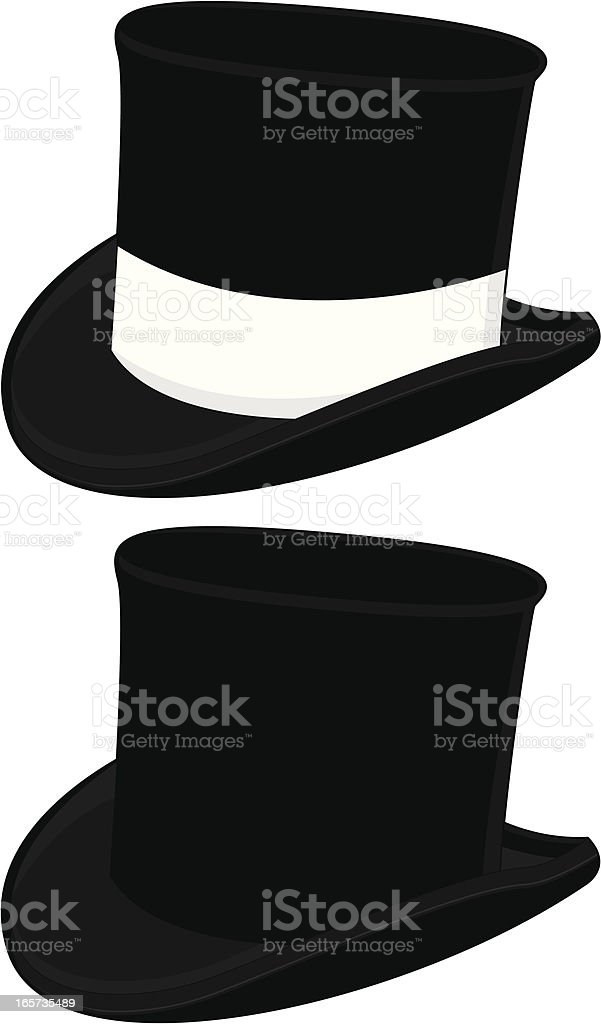Magicians Top Hat royalty-free magicians top hat stock vector art & more images of at the edge of