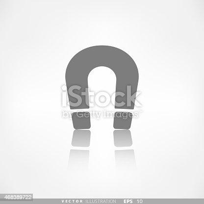 Magnet Symbol Electromagnetism Symbol Stock Vector Art & More Images ...